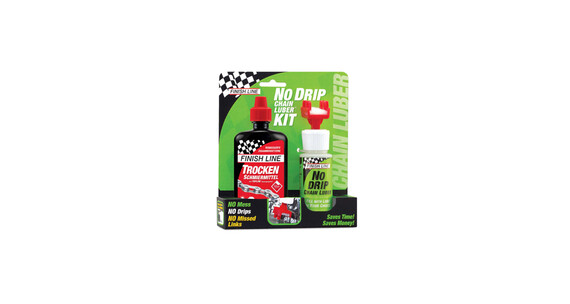 Finish Line No Drip Chain Luber Combo Dry Lube 120 ml